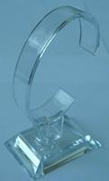 racks de iluminação venda por atacado-Suporte da mostra do suporte da cremalheira de exposição dos relógios do bracelete do relógio da jóia Luz acrílica da prateleira removível