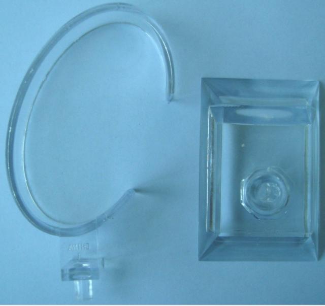 Schmuck Uhrenarmband Uhren Display Rack Holder Show Stand Acryl Abnehmbare Regalbeleuchtung