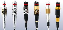 Wholesale Lip Plugs - 20pcs Permanent Makeup Eyebrow Pen Machine With Power Plug