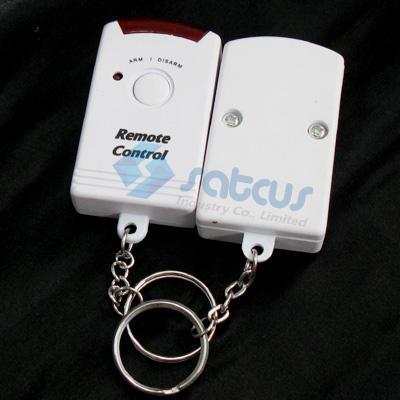 رخيصة لاسلكي شرطة التدخل السريع إنذار RF استشعار الحركة الأشعة تحت الحمراء 2 أجهزة التحكم عن بعد لص منزل الدخيل نظام إنذار الأمن بقعة إنذار البديل