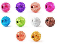 Wholesale bracelet silver balls for sale - Group buy loose beads MM Disco ball beads for DIY bracelets Different Colors available Fashion Jewelry