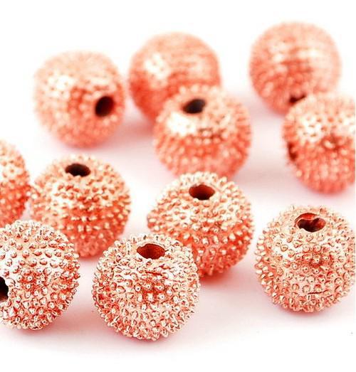 Perles en vrac 8-10 MM Perles de boule Disco pour bracelets de bricolage / Différentes couleurs disponibles bijoux de mode