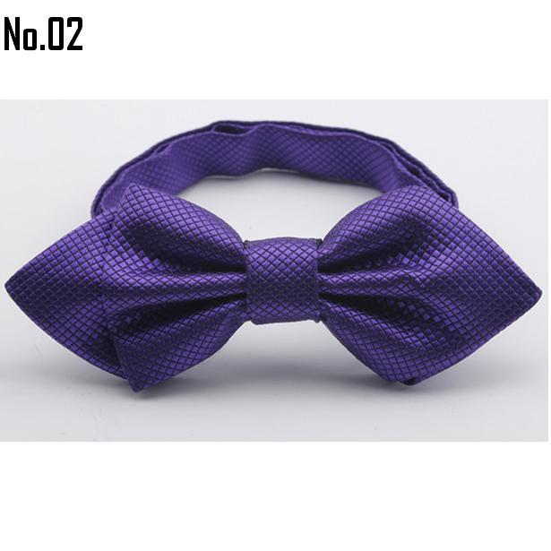 black tie men's bowties solid color men's bow ties tie knots men's ties cravat neck tie