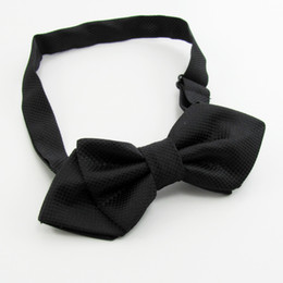Wholesale Bowties Blue White - black tie men's bowties solid color men's bow ties tie knots men's ties cravat neck tie