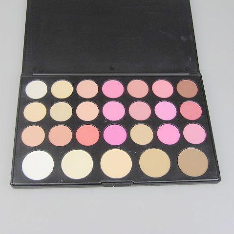 / 21 couleurs fard à joues + poudre de 5 couleurs maquillage Palatte poudre Blush Poudre clignotante et gracieuse