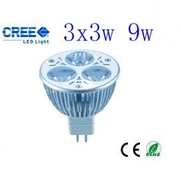 Wholesale Down Light Mr16 - 20PCS LOT WA08 9W LED ENERGY SAVING DOWN LIGHT Warm white 12V MR16 GLOBE
