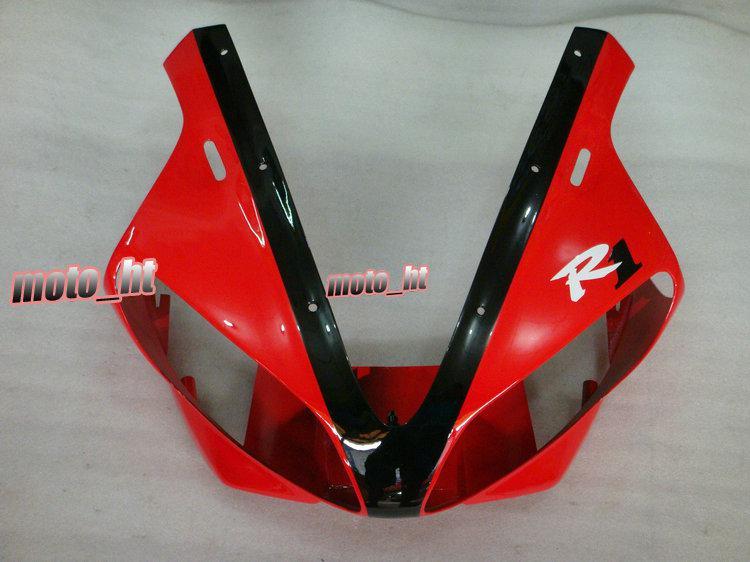 Rote Hallo-Qulality Verkleidungen für YAMAHA YZF-R1 2000 2001 YZF R1 YZF1000 00 01 YZFR1 Verkleidung Freeship