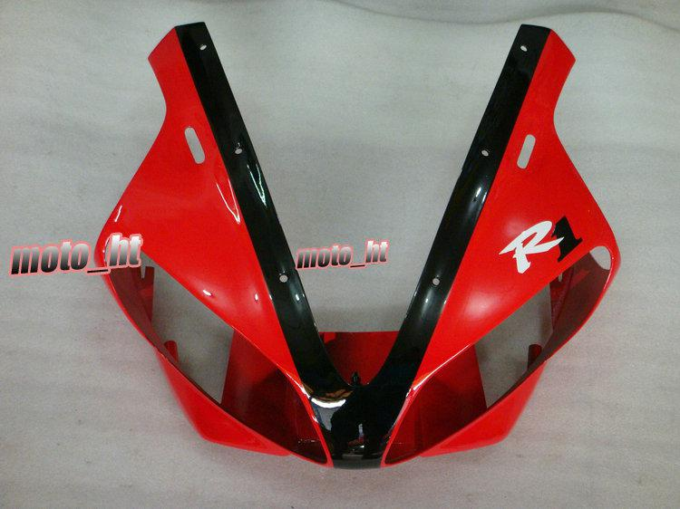 YAMAHA YZF-R1 용 Red Hi-Qulality 페어링 2000 2001 YZF R1 YZF1000 00 01 YZFR1 Fairing Freeship
