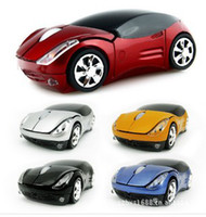 Wholesale Quality Wireless Mouse - Price Discount Top quality USB 2.4GHZ wireless car mouse fashion mouse