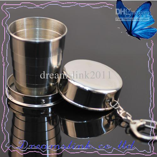 New Large Size Portable Stainless Steel Folding