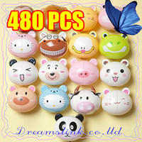 Wholesale Tooth Brush Stand - Children Baby Animal Cartoon Automatic Tooth Brush Holder Toothbrush Holder Stand Novelty Gift Plastic Insect Brush Stander