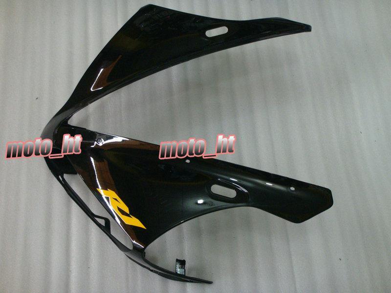 무료 배송 YZF-R1 용 Yellow Black Fairing 2005 2005 2006 YZF R1 1000 04 05 06 YZFR1 04-06