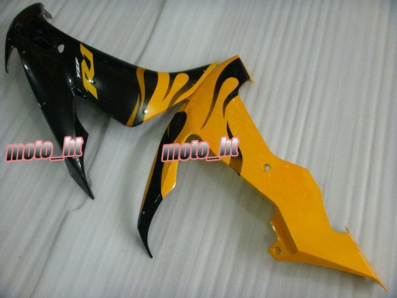 Gratis frakt gul svart fairing för YZF-R1 2004 2005 2006 YZF R1 1000 04 05 06 YZFR1 04-06