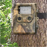 ingrosso telecamere gommose-Telecamera impermeabile per fotocamera da pista 12MP HD da ghianda con rilevatore di movimento Nightvision 54LEDS