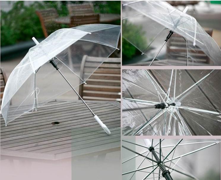 2019 Transparent Umbrella Clear See Through Umbrellas
