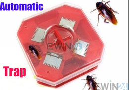 Wholesale Trapping Wholesale - Cockroach Catcher Trap Motel Sanitary Reusable Biologic Bait Pest Control Eco Friendly New and high quality 120pcs
