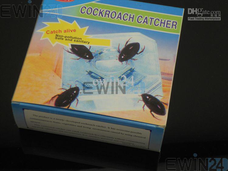 Cockalach Catcher Pułapka Motel Sanitarny Wielokrotnego użytku Biologiczne Przynęty Pest Control Eco Przyjazny i wysokiej jakości 120 sztuk