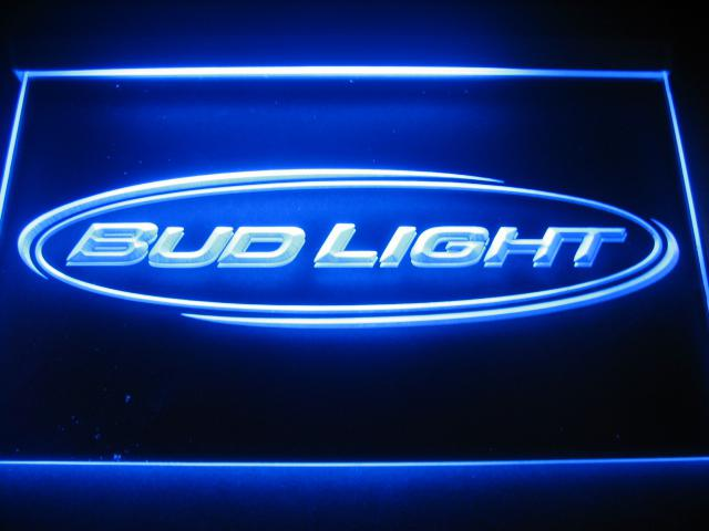 W0524 bud light beer bar pub club nr neon light signs mozeypictures Image collections