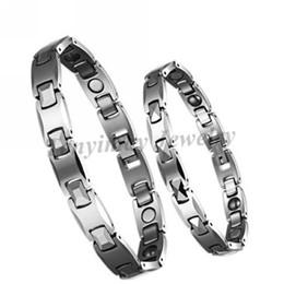 brazalete de tungsteno de las mujeres Rebajas Brazaletes de tungsteno de alta calidad para hombres o mujeres, pulseras curativas magnéticas, brazaletes impermeables