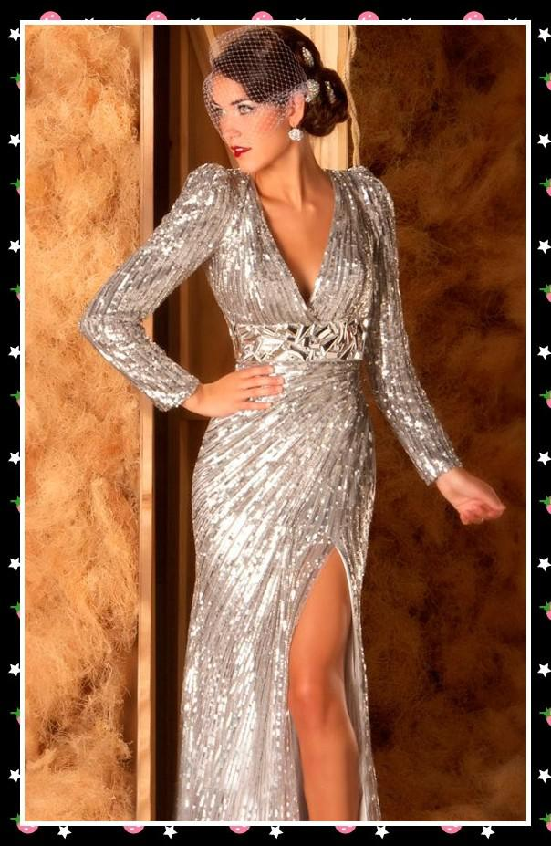 Sequined Cocktail Outfit