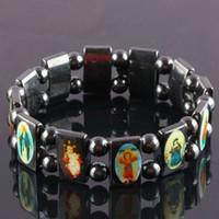 Wholesale Tennis Set Price - Factory Price!20% off! Rosary Bracelets Good wood UK Religious Jesus Bracelets Free Shipping 48pcs lot