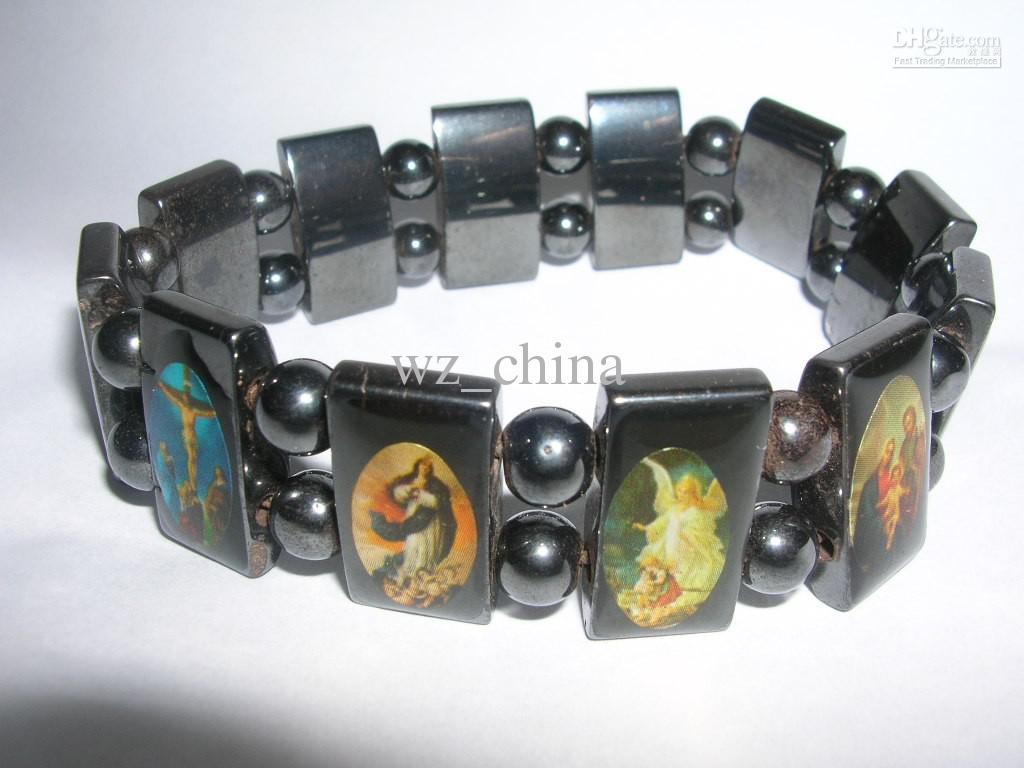 20% off!Good Wood Jesus Bracelets Rosary Stretch Bracelet Religious Bracelet Jewelry Hot NEW!