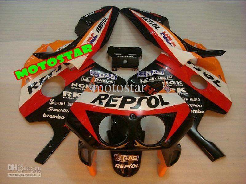 High quality REPSOL Fairings kit for Honda CBR250RR CBR250 RR MC22 CBR 250RR NC22 CBR22 250R 1990-1994 fairing