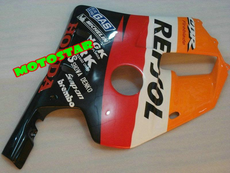 Högkvalitativ Repsol Fairings Kit för Honda CBR250RR CBR250 RR MC22 CBR 250RR NC22 CBR22 250R 1990-1994 FAIRING