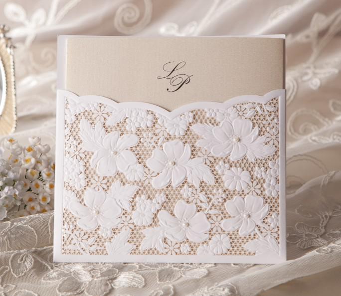 Wedding Invitation Card Customised Invitation Card W1101 – Customized Invitation Cards