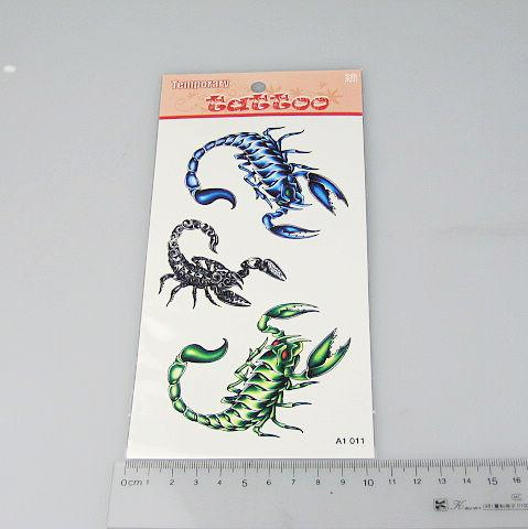 Temporary Tattoos Tattoo Stickers For Body Art Painting Waterproof Mix Designs Order A1-47