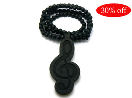 Wood Hip Hop Beads Canada - 30% off!WOOD BEADED GOOD QUALITY HIP HOP GOOD WOOD NYC NECKLACE ROSARY BEADS