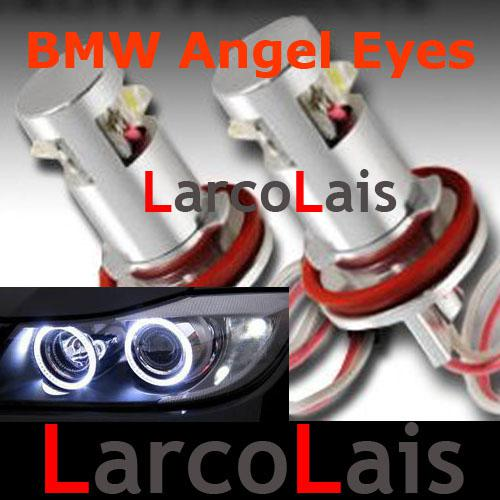 best selling 20% OFF 2X 10W H8 Angel Eyes Halo Ring LED Light Bulb Lamp for BMW E92 E93 X5 X6 E63 E70 E71 E82 E87