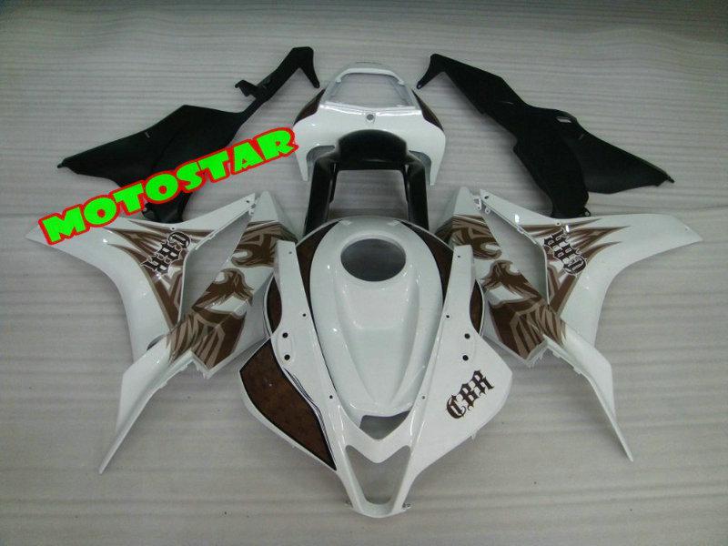 Injektionsform ABS Fairing Kit för Honda CBR600RR 2007 2008 CBR 600RR CBR600 RR F5 07 08
