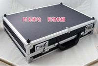 Wholesale Storage Collection - New 30 Grid Watches Display Storage Box Case Jewelry black Aluminium watches collection box