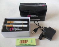 Wholesale Electronics Cigarette V9 - Double V9 health E-Cigarette Electronic Cigarette white & yellow color with retail box hfghhh