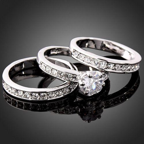 Swarovski silber ring