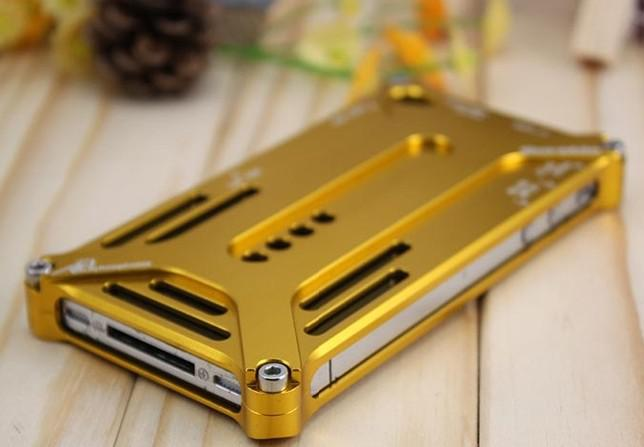 New Arrival Arachnophobia Durable ,luxury case for iphone 4, Aluminium bumper case for iPhone 4 mobi