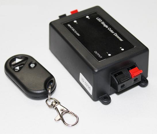 LED Single Color Dimmer DC 5V 12V 24V Justerbar trådlös fjärrlampa LED Dimmer Switch Controller för LED Mold Strip Light