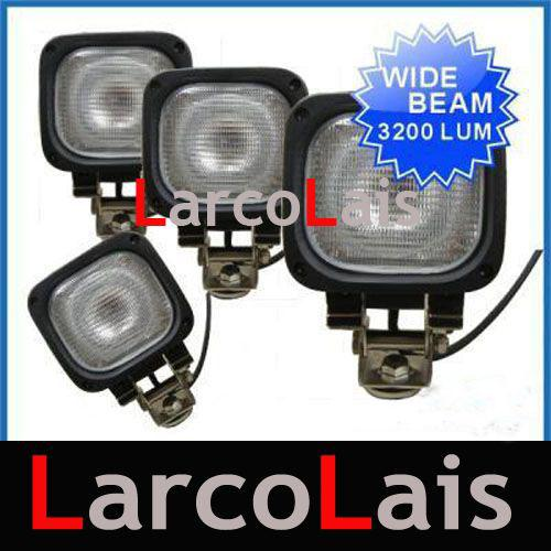 "4 X 55W 4.5"" HID Xenon Work Light Lamp 12V 24V SUV Truck ATV Flood"
