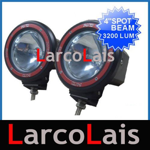 "1 Pair 4"" 4 inch HID XENON Driving Working Work Spot Flood Light Offroad 4X4 SUV ATV JEEP"