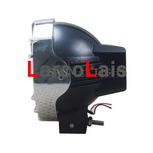 """55W 7"""" HID XENON DRIVING SPOTLIGHT FLOOD OFFROAD LIGHT 4WD 4X4 Truck Headlight"""