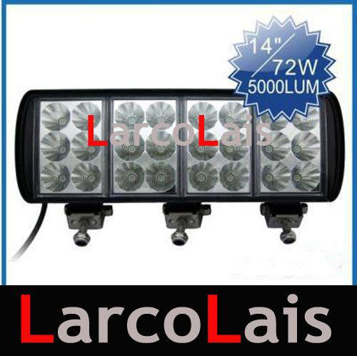 Lumen Led Driving Flood Work Light Bar Car