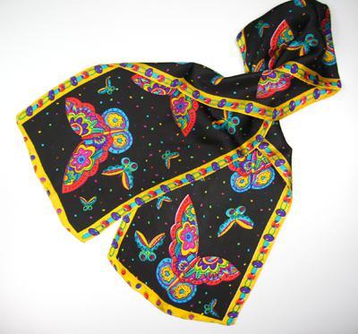 Cutie animal design 100% silk Scarf scarves Silk scarf #109