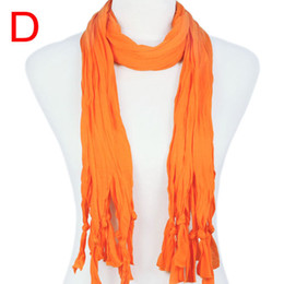 Wholesale Pt Fashion - 3pcs lot, DIY scarf snood neck scarf solid base ,separate with pendants findings making available ,5colors ,PT-387