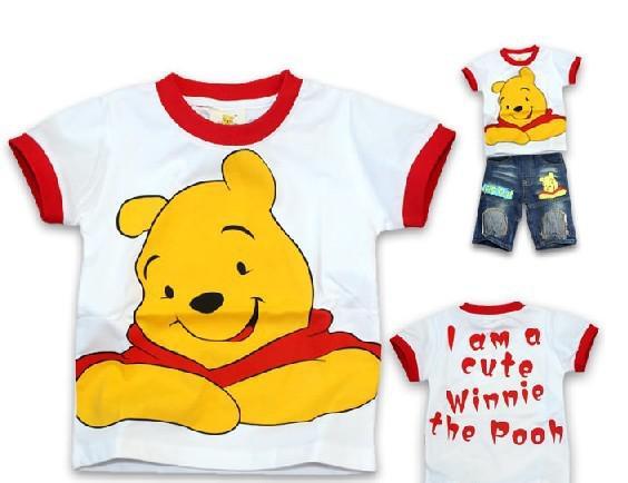 c0d783fd6f07 2019 T Shirt Winnie The Pooh Boys Girls Can Wear Winnie The Pooh Tshirt  A031 From Toys china