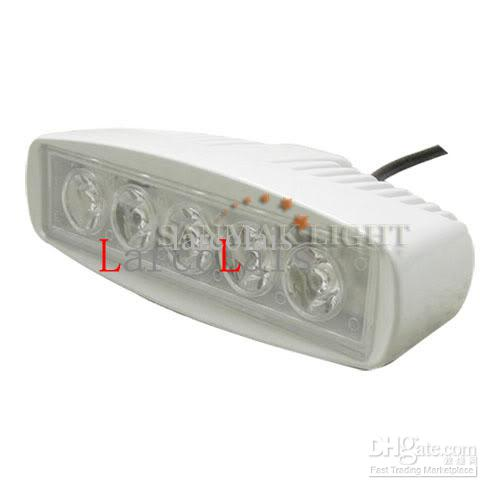 15w LED travail lampe lampe bateau camion caravane 4X4 pont 12V 24V inondation