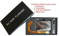 Wholesale DHL ship E3 Nor Flasher with Kits Simple Package E3 FLASHER Dual Boot FOR PS3