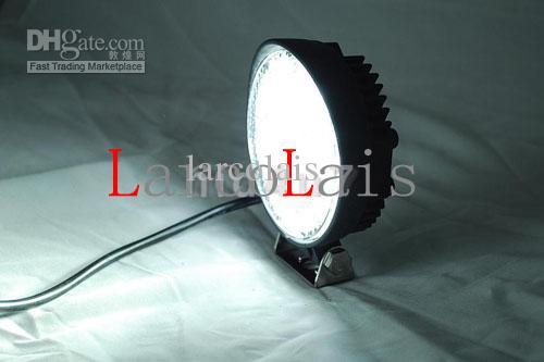 24W 12V 24V LED 작업 빛 Led 램프 오프로드 4WD 4 x 4 홍수