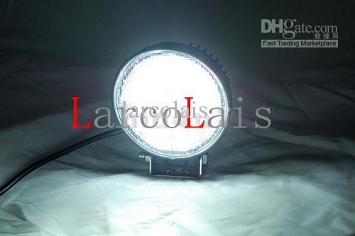 La luz del trabajo de 24W 12V 24V LED llevó la lámpara OffRoad 4WD 4x4 inundación