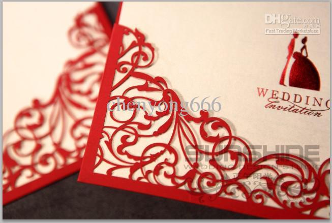 Acheter Carte Dinvitation Invitation De Mariage Cw1011 Incluent Lenveloppe Les Cartes De Mariage Les Faveurs De Mariage De 86 2 Du Chenyong666 Dhgate Com